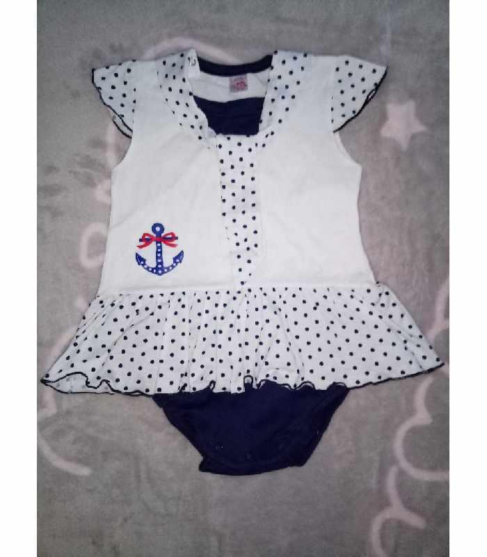 Боди-платье Морячка