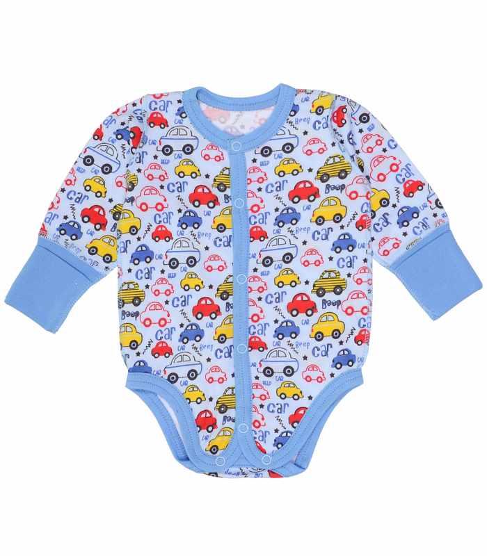 Боди для новорожденных Машинки