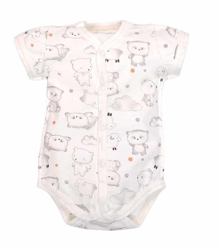Боди-футболка для новорожденных Панда М