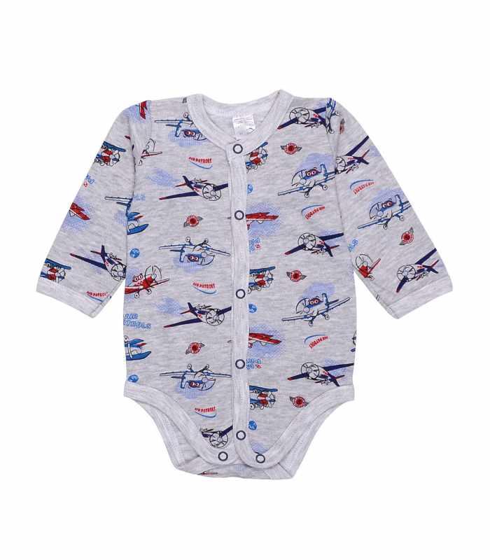 Боди интерлок для новорожденных Самолеты