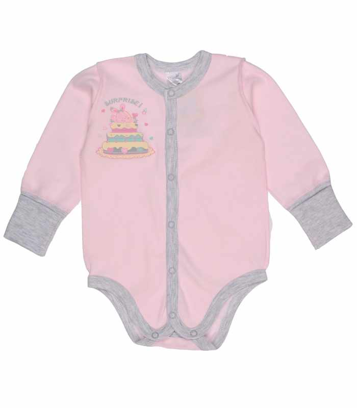 Боди для новорожденных розовый
