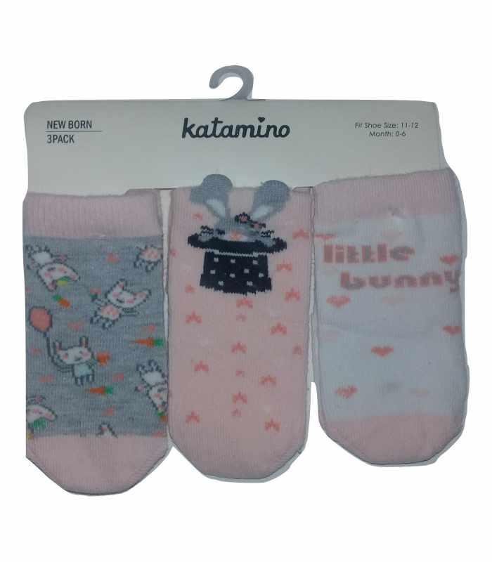 Демисезонные детские носки 0-6мес bunny