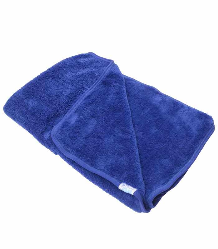 Одеяло велсофт синий