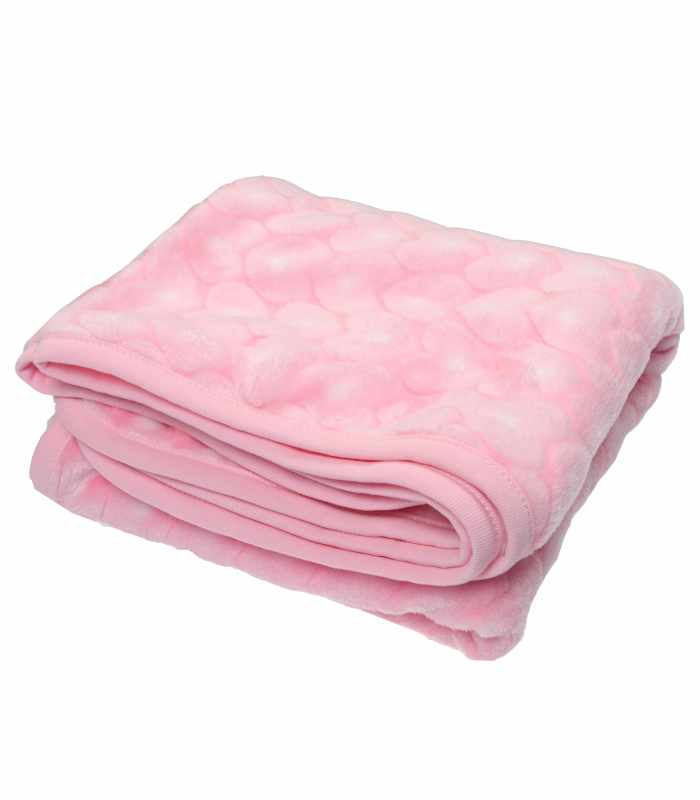 Одеяло велсофт Розовый