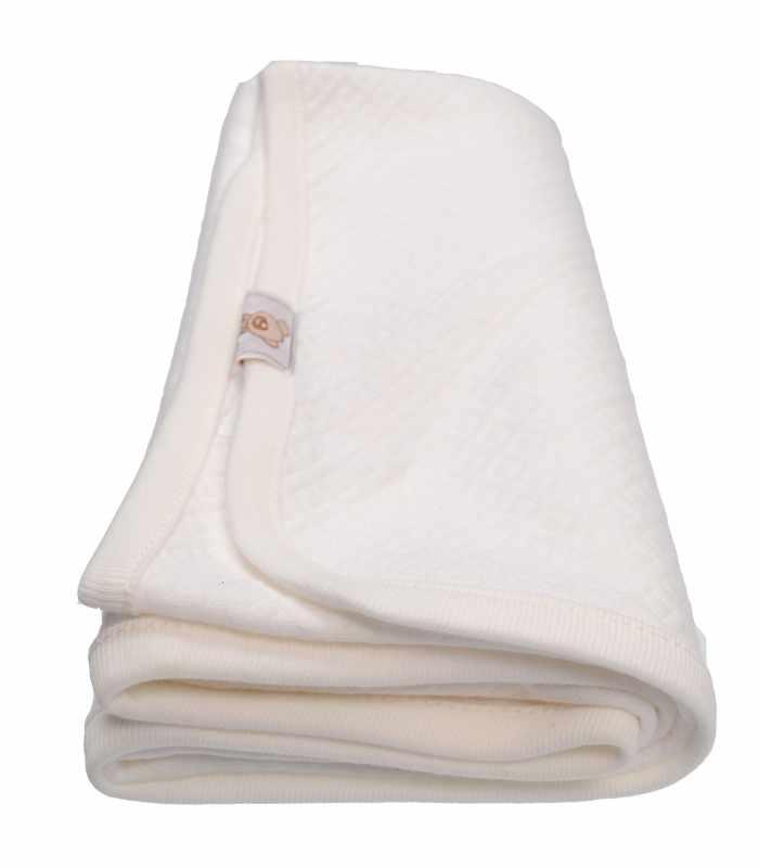 Одеяло капитон Молочный