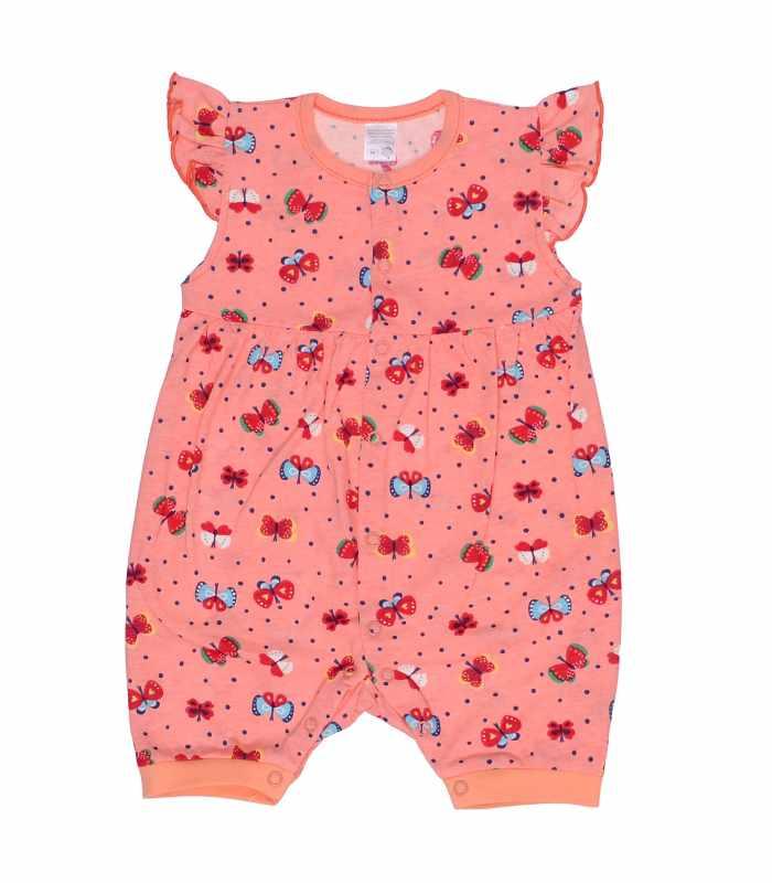 Песочник для девочки Бабочки персик С