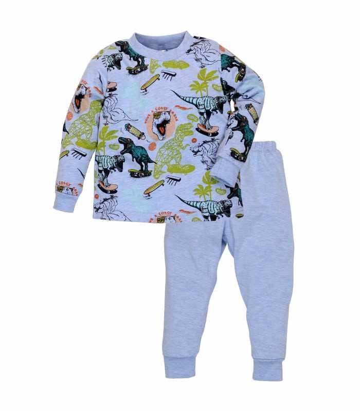Пижама легкая Динозавр меланж
