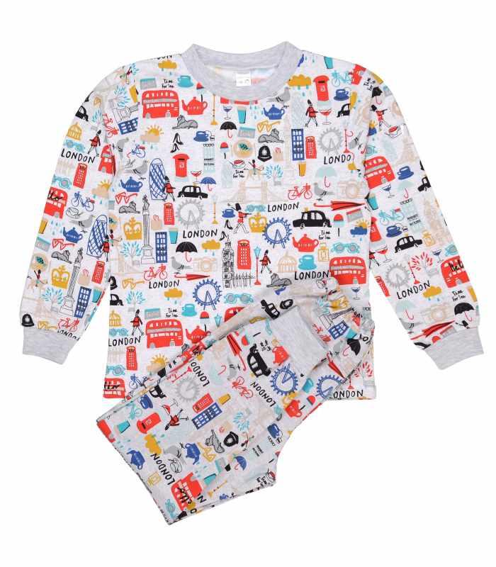 Детская пижама утепленная Лондон