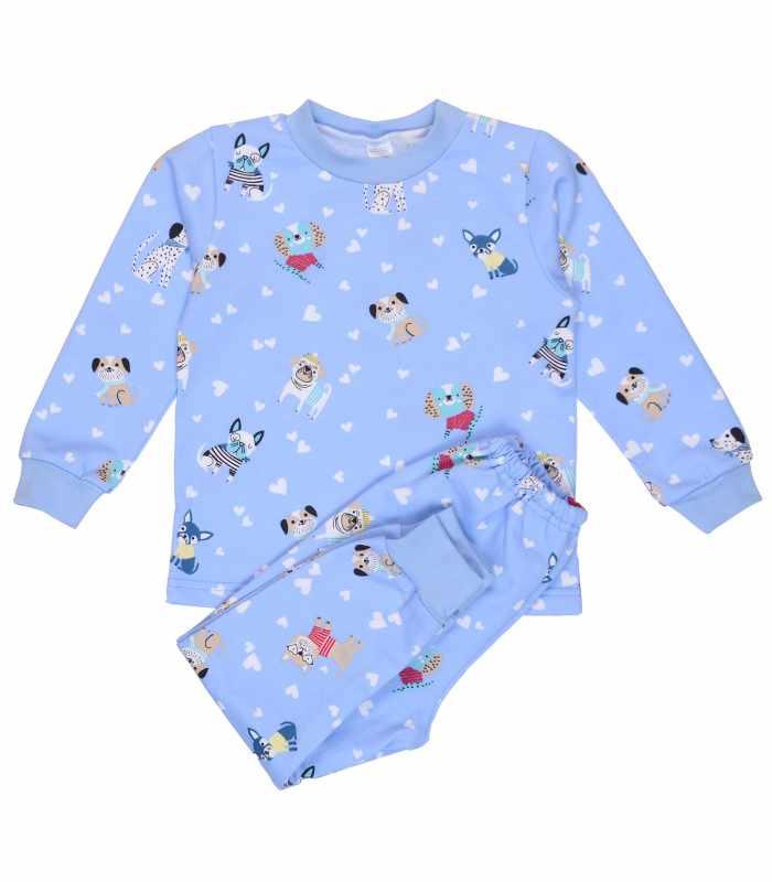 Детская пижама утепленная Любимые питомцы