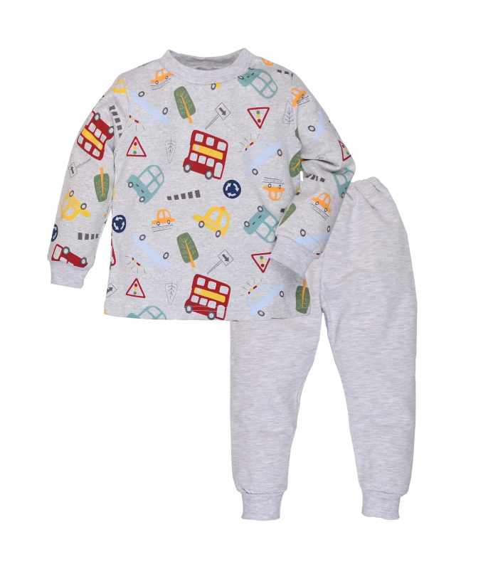 Детская пижама утепленная Улица