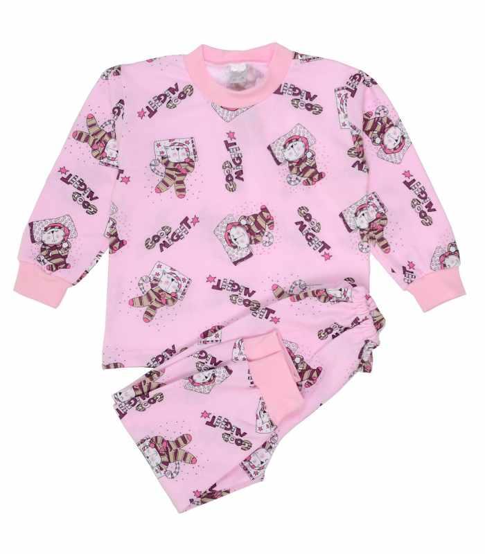 Детская пижама утепленная Кот