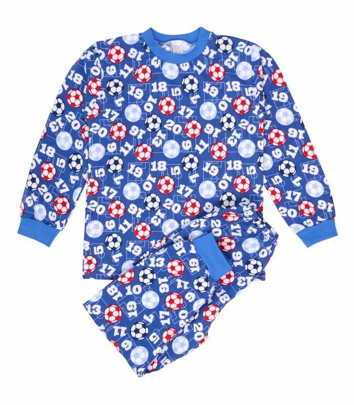 Детская пижама утепленная мяч