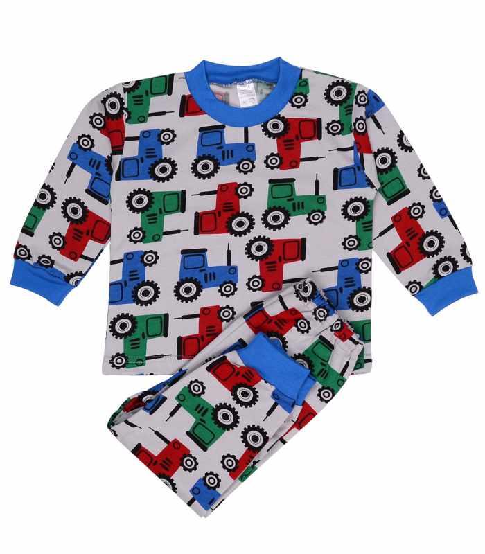 Детская пижама утепленная Трактор