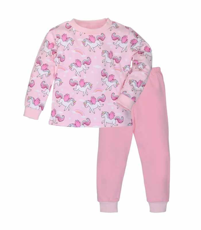 Пижама плотная единорожки розовый