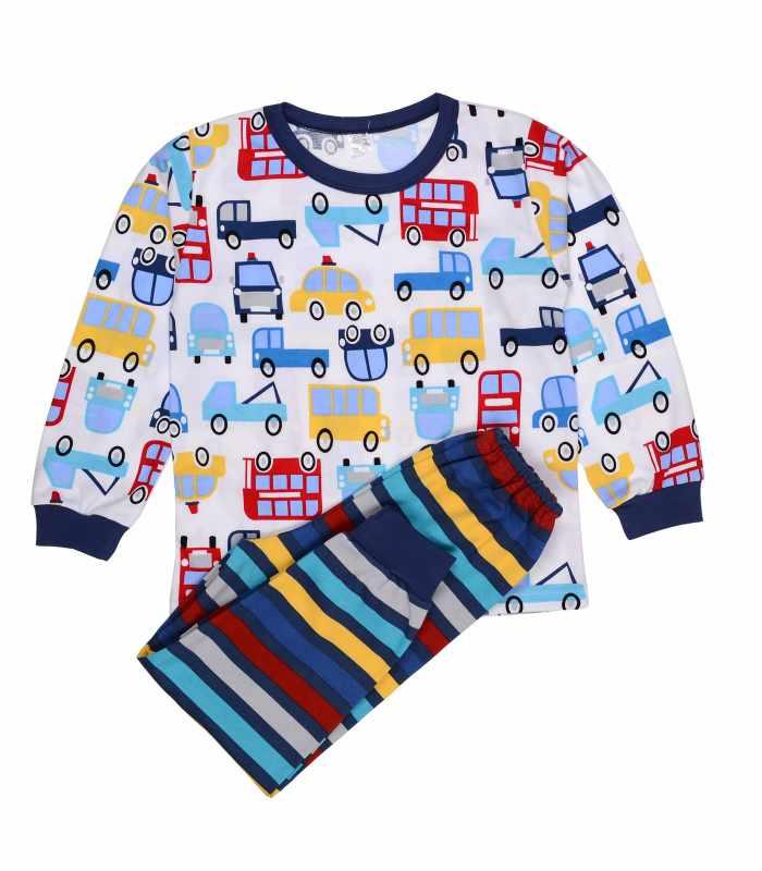 Пижама Машинки полоска