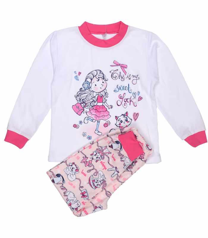 Пижама Девочка с котиком