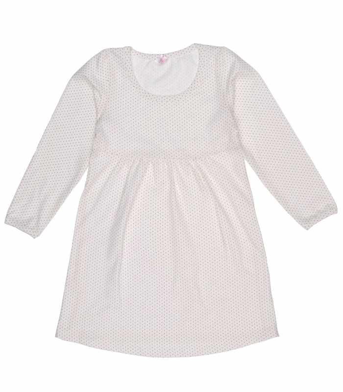 Ночная сорочка Крапинка молочный