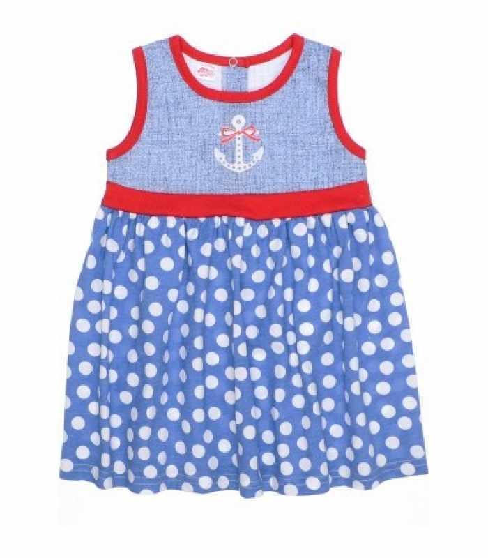 Платье майка горошек С
