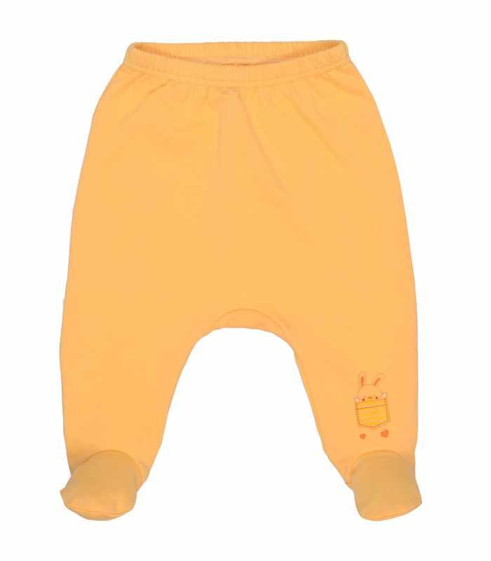 Ползунки утепленные желтый С