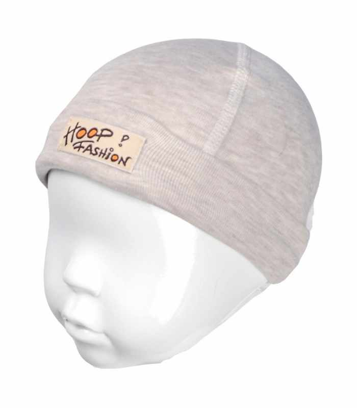 Детская шапочка с подчесом Бежевый