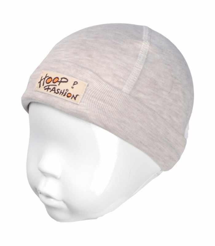 Детская шапочка с подчесом Бежевый С