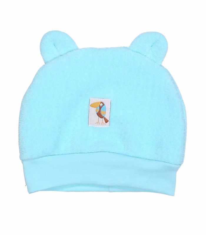 Детская шапочка (махра) Бирюза